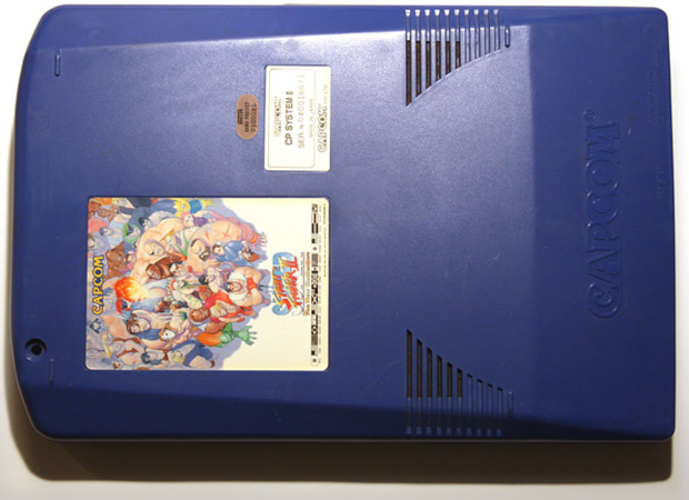 Super Street Fighter II CPS-2 blue board